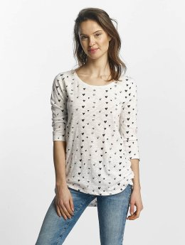 Only Longsleeves Casa 3/4 bialy
