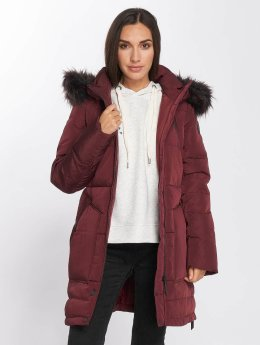 Only Manteau hiver onlRhoda Down rouge