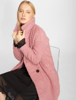 Only Mantel onlPaloma Boucle Wool rosa