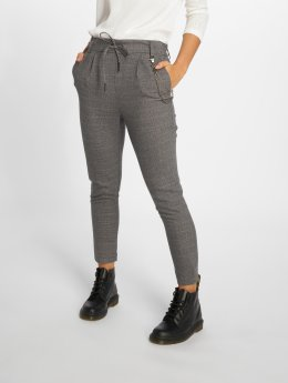 Only Pantalon chino onlPoptrash Woven Urban Check gris