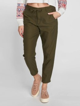 Only Pantalon chino onlAndie Loose String olive