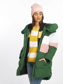 Only Puffer Jacket onlMari Blocked Padded grün