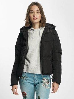 Only Puffer Jacket onlCille Quilted schwarz