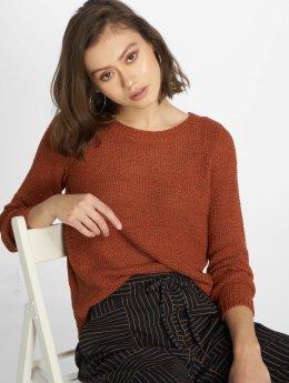 Only Pullover onlGeena Xo braun