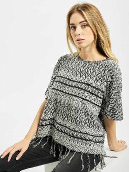 Only Pullover onlArdenay 2/4 Knit Poncho grau