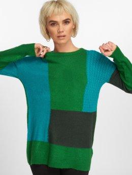 Only Pullover onlSalvador Long Knit grün