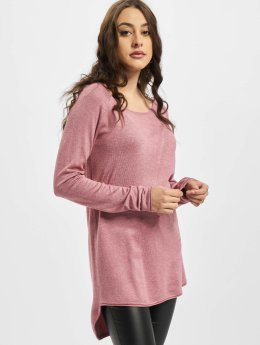 Only Pullover Mila Lacy Long rosa