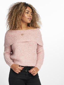 Only Pullover onlNew Fiona Off Shoulder rosa