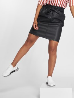Only Rock onlRigie High Waist PU Paper schwarz