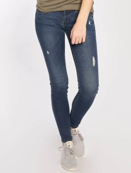 Only Skinny Jeans Coral Superlow blau