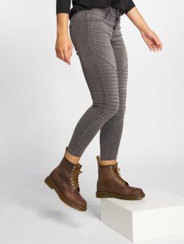 Only Skinny jeans onlRoyal Regular Biker grijs