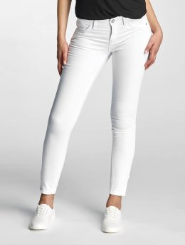 Only Frauen Skinny Jeans onlKendell Regular Ankle in weiß