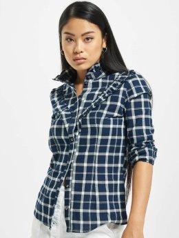 Only Skjorter onlJaden Frill Check blå
