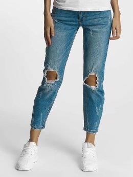 Only Frauen Slim Fit Jeans onlCille in blau