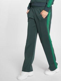 Only Spodnie do joggingu Onlmisty Long zielony