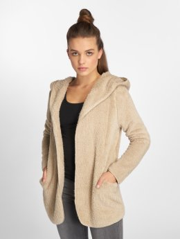 Only Strickjacke onlNew Contact Sherpa beige