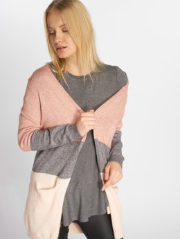 Only Strickjacke onlQueen Long Knit rosa