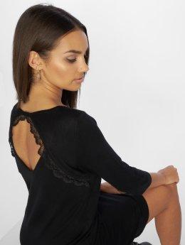 Only Sukienki onlMilania 3/4 Knit  czarny