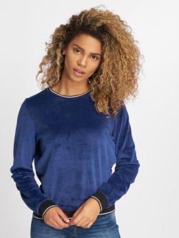 Only Sweat & Pull onlCharolotte Velvet bleu