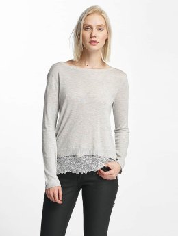Only Sweat & Pull onlShirtley Lace gris