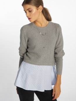 Only Sweat & Pull Onljanelle gris