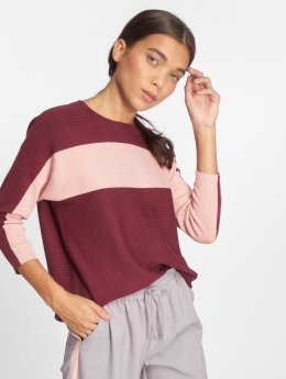 Only Sweat & Pull onlChia 3/4 Knit rouge