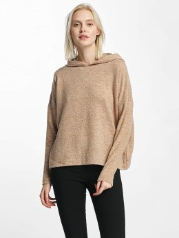 Only Sweat capuche onlIda Knit beige