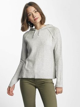 Only Sweat capuche onlCelia Knit gris