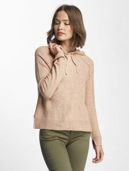 Only Sweat capuche onlCelia Knit rose