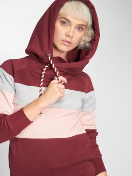 Only Sweat capuche onlJalene rouge