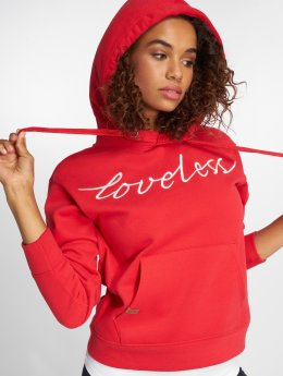 Only Sweat capuche onlJosie rouge