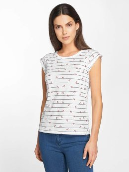 Only T-Shirt onlBone Liva blanc