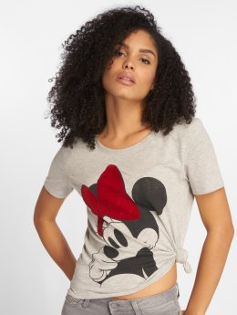 Only T-Shirt onlMinnie Mickey Cute grau