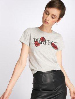 Only t-shirt onlVivi grijs