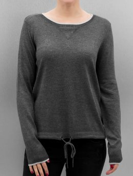 Only T-Shirt manches longues OnlPhilu O-Neck gris
