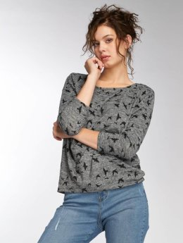 Only T-Shirt manches longues onlElcos gris