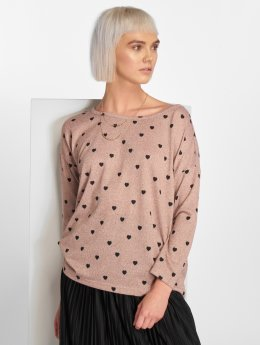 Only T-Shirt manches longues onlElcos rose