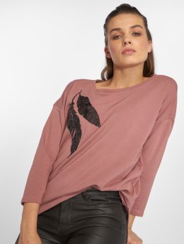 Only T-Shirt manches longues onlSiri rose
