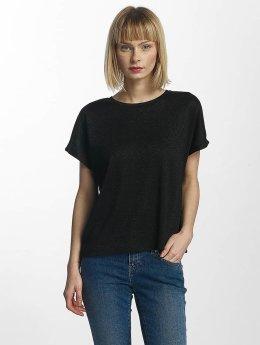 Only T-Shirt onlSilvery Disco noir