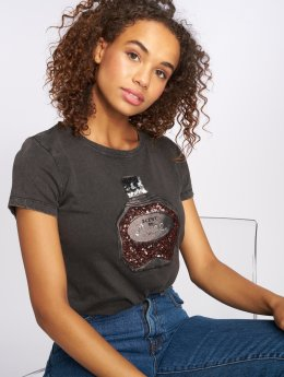 Only T-Shirt onlNikko Stiletto Parfume noir
