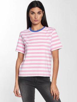 Only T-Shirt onlLive Love Trendy Stripe rosa