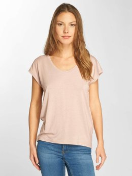 Only T-Shirt onlSannie Plain rosa