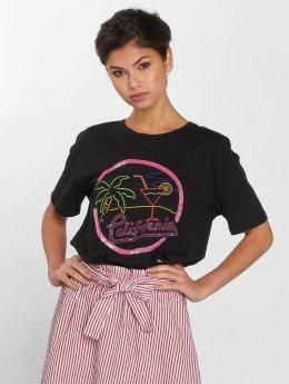 Only T-Shirt onlBone schwarz