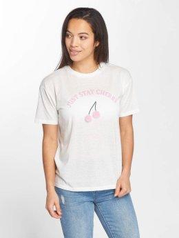 Only T-Shirt onlFurry Cherry weiß