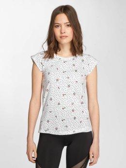 Only Frauen T-Shirt onlBone in weiß