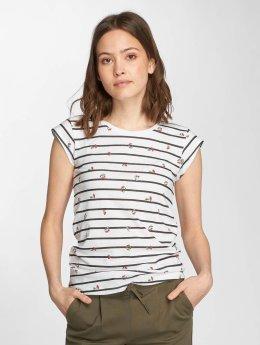 Only T-Shirt onlBone Liva weiß