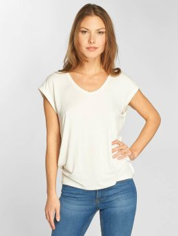 Only T-Shirt onlSannie Plain weiß