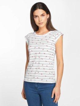 Only t-shirt onlBone Liva wit