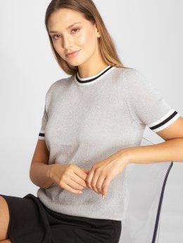 Only t-shirt onlKamilla 2/4 zilver