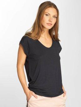 Only T-Shirty onlSannie Plain niebieski